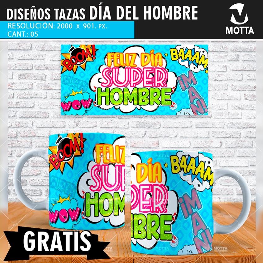 1641efce9 Diseños Gratis para Sublimar Mug Día del Hombre EXPRESIÓN SOCIAL
