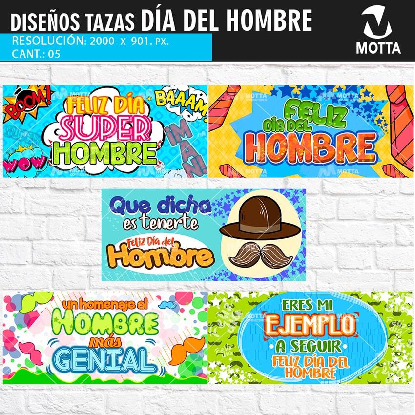 Descargar Gratis Diseños para estampar Tazas del Día del Hombre