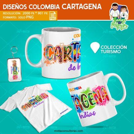 DISEÑOS PARA SUBLIMAR DE CARTAGENA DE INDIAS COLOMBIA.