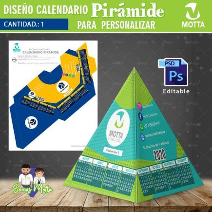 CALENDARIO 2020 PIRÁMIDE PARA IMPRIMIR