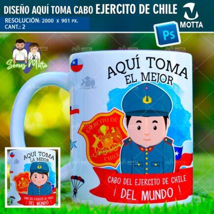 DISEÑOS AQUÍ TOMA EL MEJOR CABO EJERCITO DE CHILE