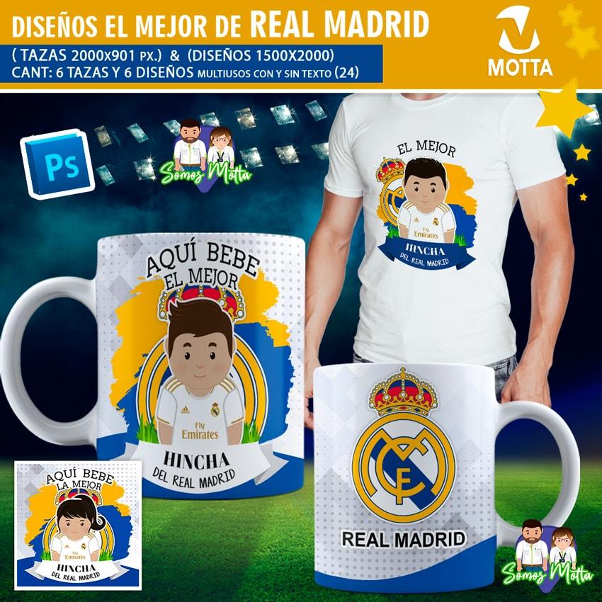 DISEÑOS AQUÍ BEBE HINCHA DEL REAL MADRID FC