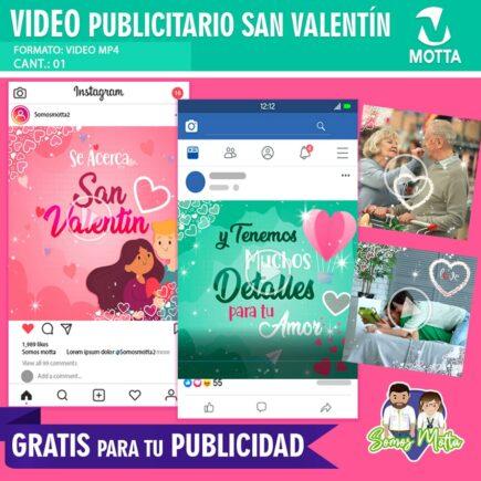 VÍDEO GRATIS PARA PROMOCIONAR REGALOS EN SAN VALENTÍN