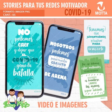 DISEÑOS GRATIS PARA STORIES CON FRASES DE MOTIVACIÓN #QUÉDATEENCASA