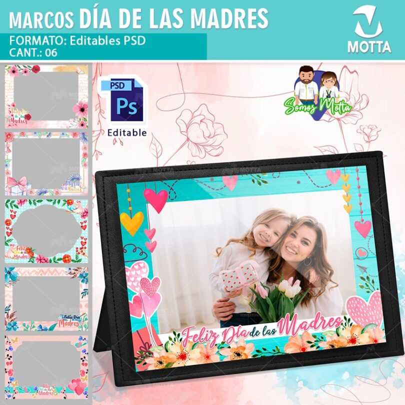 MARCOS FOTOGRÁFICOS DÍA DE LA MADRE DESCARGA 1 GRATIS