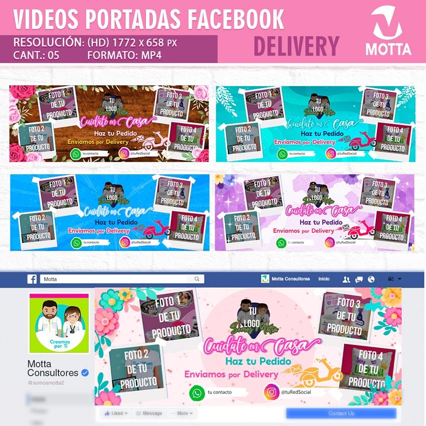 VÍDEO PORTADA DE FACEBOOK PARA OFERTAR DELIVERY