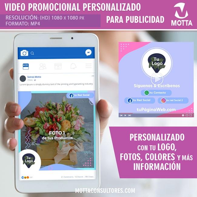 VÍDEO PROMOCIONAL PERSONALIZADO PARA PUBLICIDAD