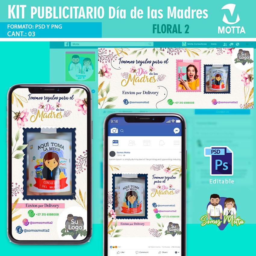 DISEÑOS GRATIS KIT PARA PUBLICIDAD DÍA DE LAS MADRES