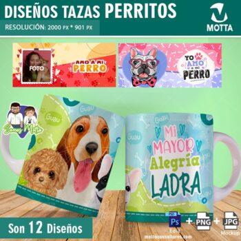 DISEÑOS DE TAZAS PARA AMANTES DE LOS PERROS