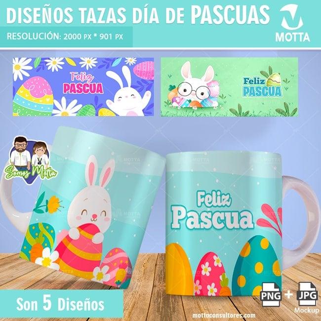 PLANTILLAS GRATIS PARA TAZAS DE PASCUA